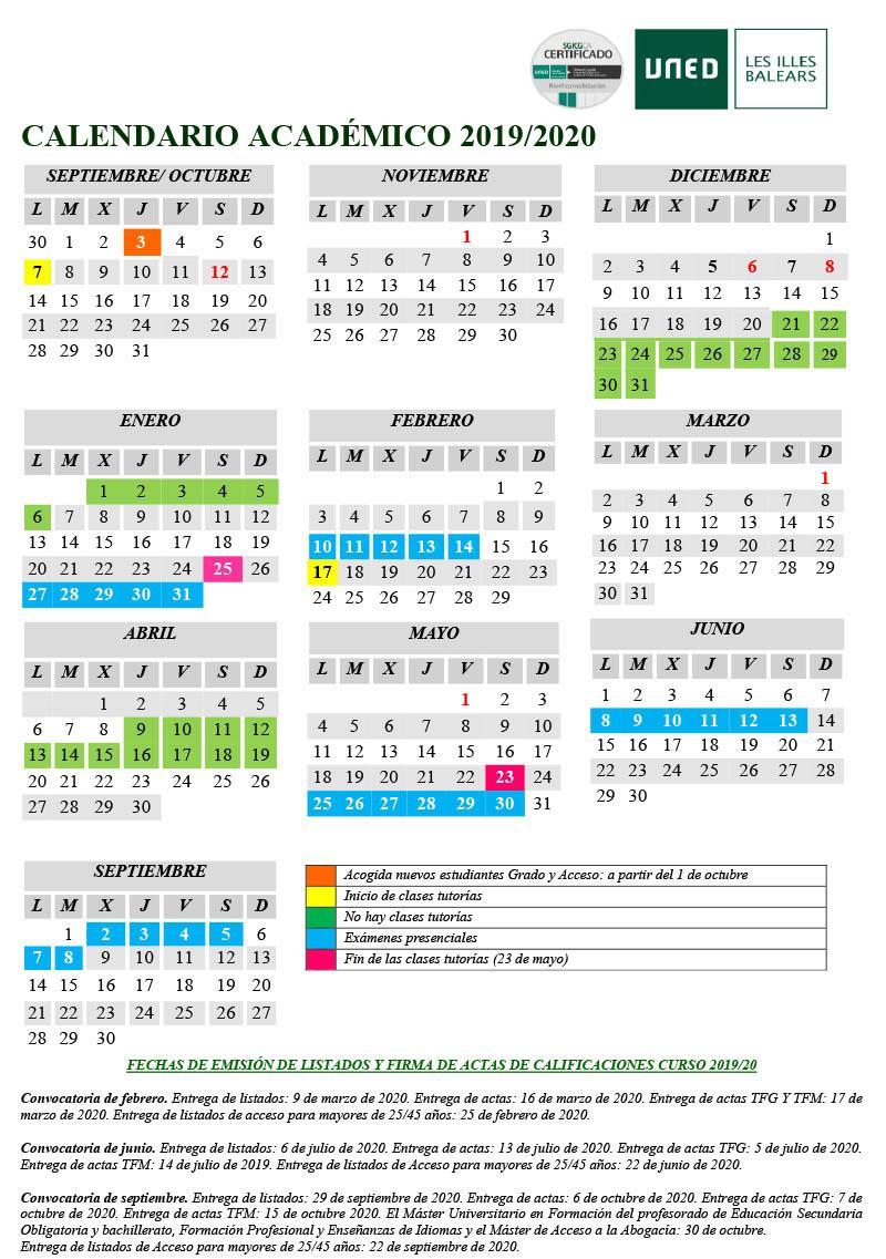 Uned Calendario Examenes.Calendario Oficial De Examenes De Psicologia De La Uned